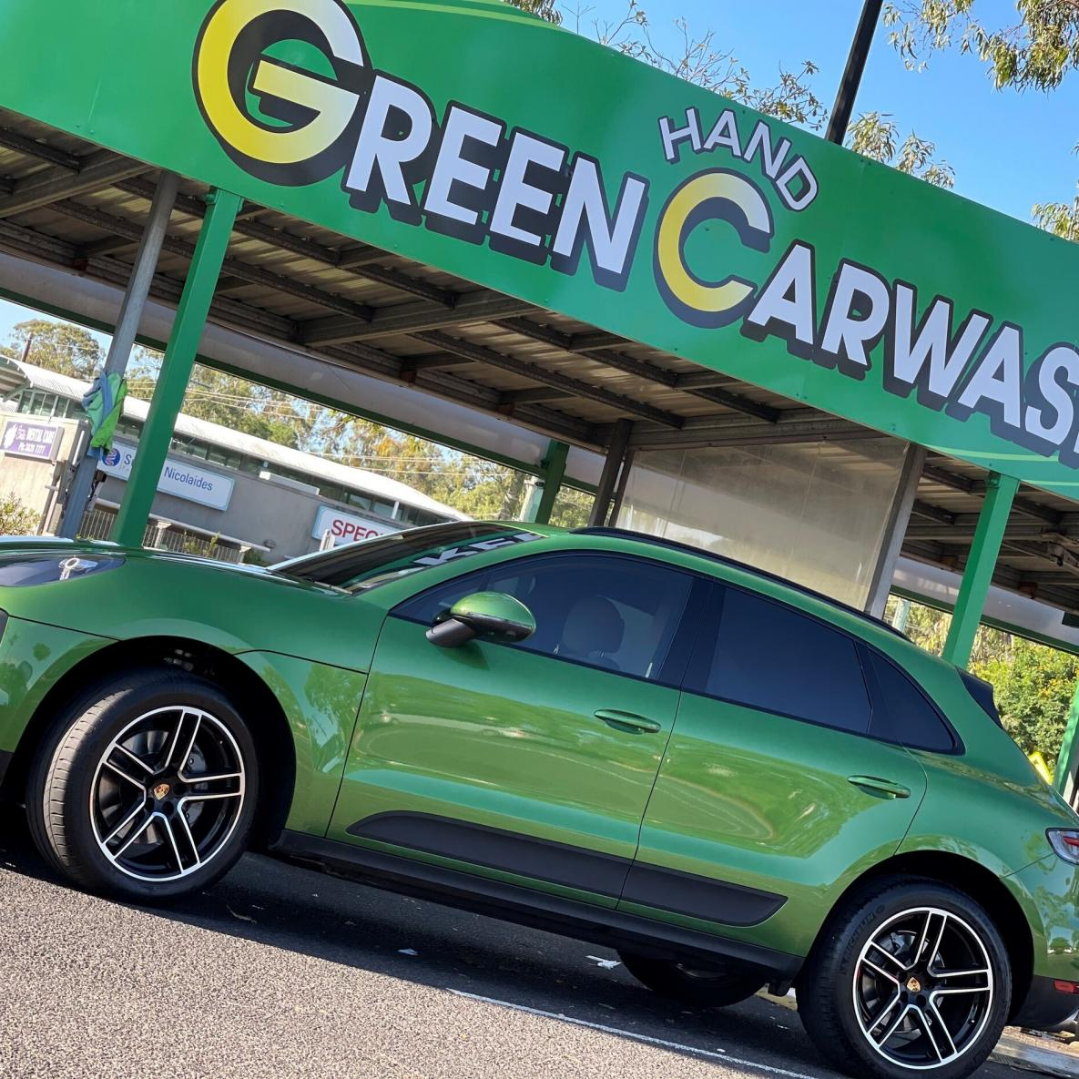 Green Hand Carwash Cleveland Central